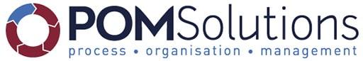 Logo POM Solutions : conseil en organisation